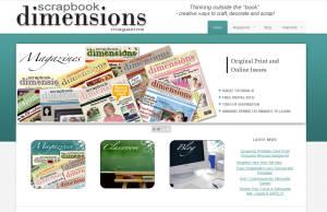 Scrapbook Dimensions Magazine